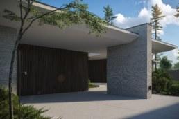 Poli House Garage Gate