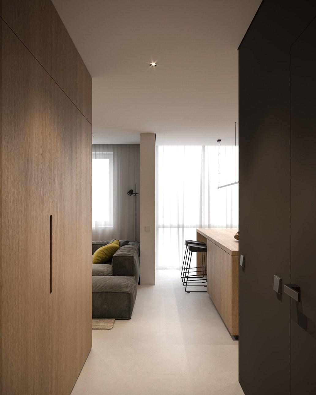 Tiny Apartment Small Apartment Interior Design By Bezmirno