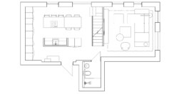 Serenity Apartment Layout 1 floor