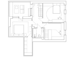 Serenity Apartment Layout 2 floor