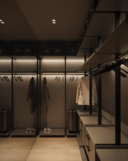 Serenity Apartment Wardrobe