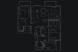 Французький Квартал 2, дизайн інтер'єру план квартири