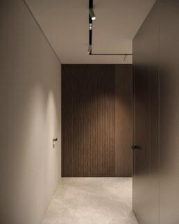 Французький Квартал 2, дизайн інтер'єру коридору квартири