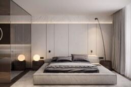 French Block II Master Bedroom