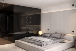 20-Французький Квартал 2, дизайн інтер'єру господарської спальні