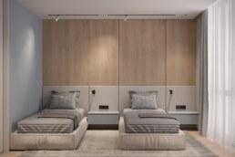 Французький Квартал 2, дизайн інтер'єру дитячої спальні