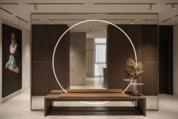 Французький Квартал 2, дизайн інтер'єру холу квартири
