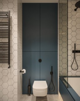 Французький Квартал II, дизайн інтер'єру дитячої ванної кімнати