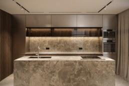 French Block II Kitchen