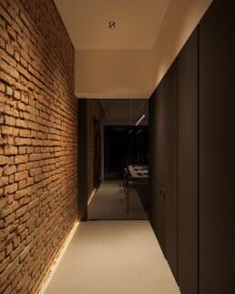 Дизайн інтер'єру сучасного офісу, вхідна зона