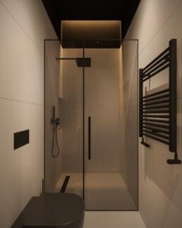 Дизайн інтер'єру сучасного офісу, душ