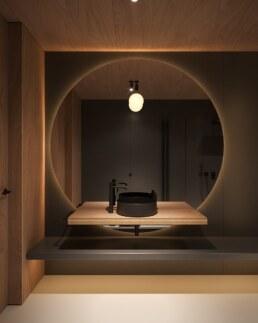 Nero House Bathroom interior