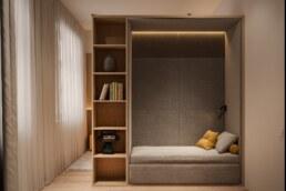 Nobel interior design children's room for a boy relax space