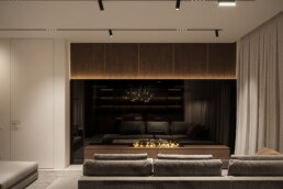 Notte Interior Design, Living Room view
