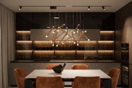 Notte Interior Design, Kitchen view