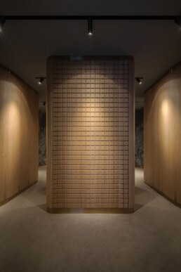 Fitting room design, Interior, Entrance