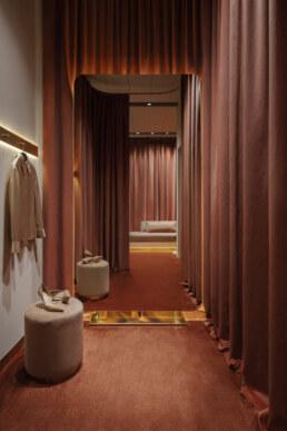 Fitting room for women, Design, Interior